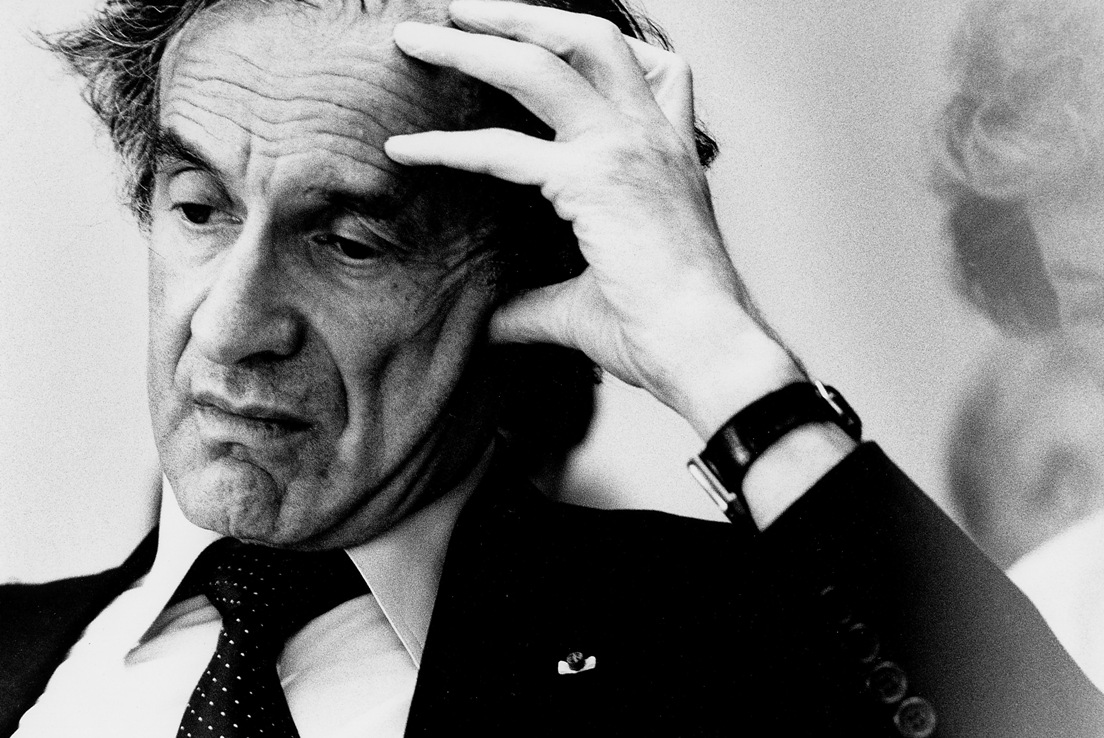 <b>Elie Wiesel</b> on What to Do with Suffering - 1c125f8107fa8d743065234384042b09_0