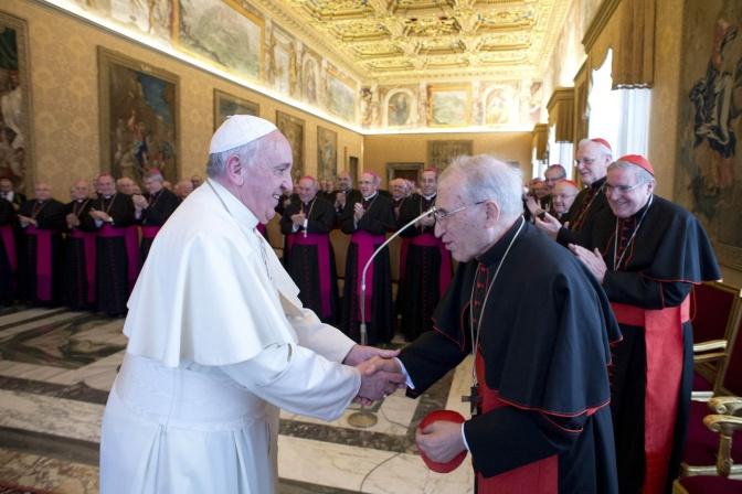 CNS photo/L'Osservatore Romano via Reuter 03.03.2014
