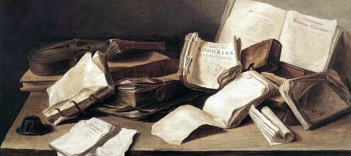 Jan Davidszoon de Heem, Still-Life of Books