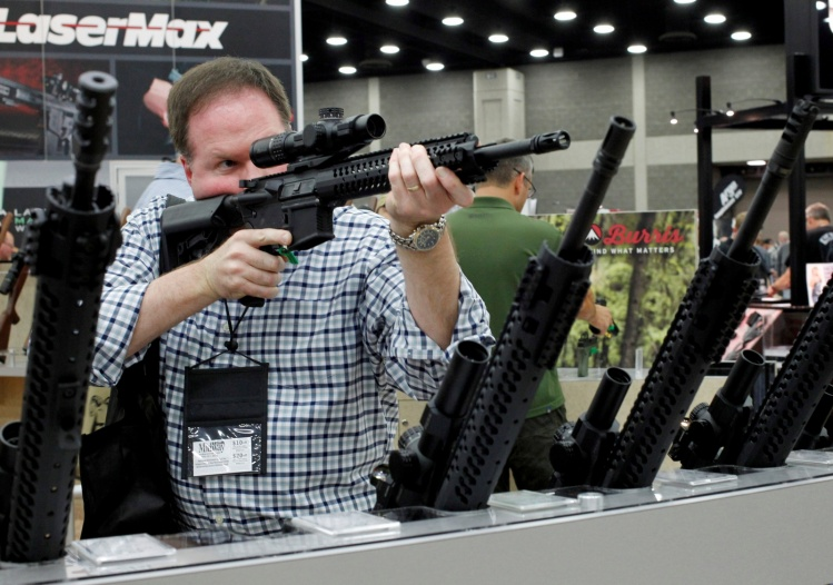 At the 2016 annual NRA meeting / CNS photo