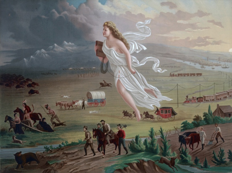 John Gast, American Progress, 1872