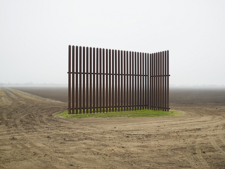 Richard Misrach, Wall, Los Indios, Texas, 2015 / Pace and Pace/MacGill Gallery, New York