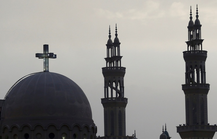 Church and mosque in Cairo / CNS photo