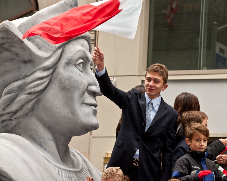 Columbus Day in New York City