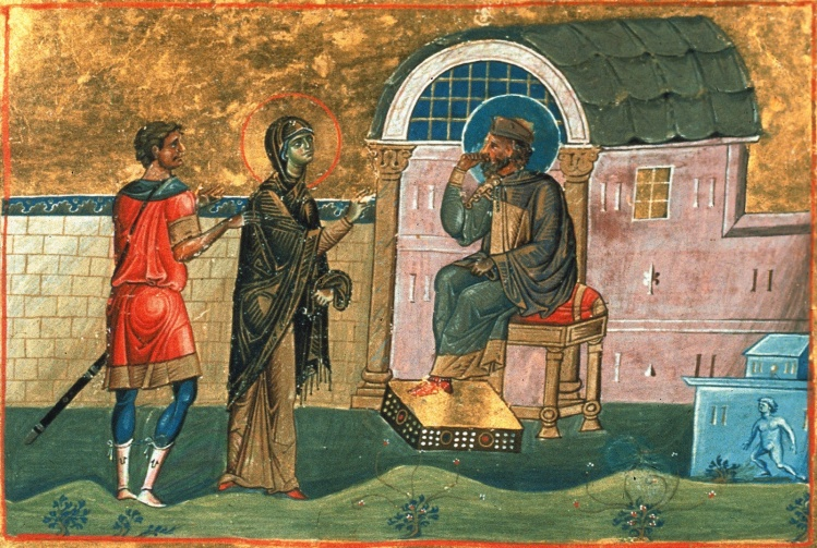 Publia (Poplia) the Confessor and Deaconess of Antioch / Menologion of Basil II