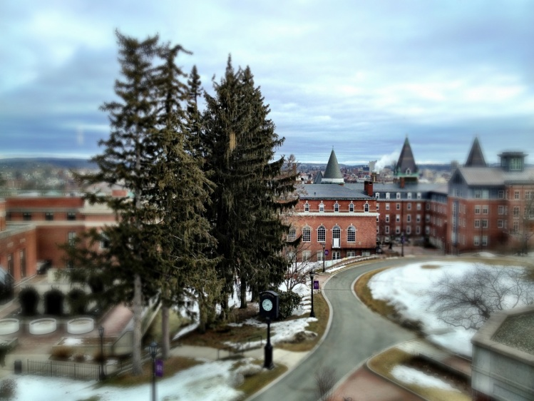 The College of the Holy Cross / Dee & Tula Monstah