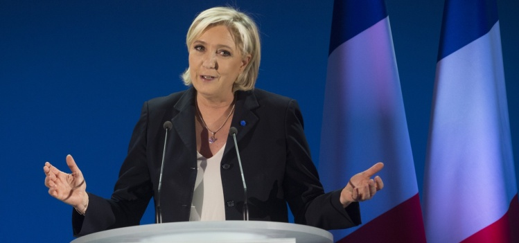 Marine Le Pen in April / CNS