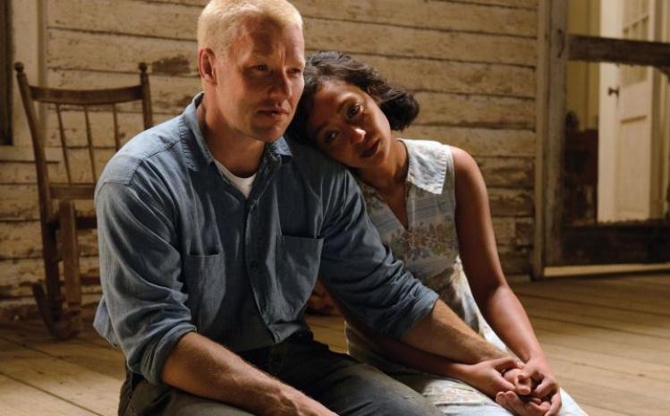 "Joel Edgerton & Ruth Negga in ""Loving"""