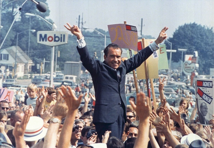 Richard M. Nixon /Wikimedia Commons