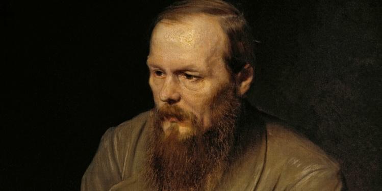 Portrait of Dostoyevsky by Vasily Perov, 1872