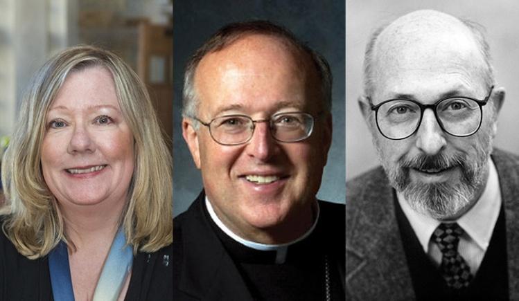 Cathleen Kaveny, Bishop Robert McElroy, Peter Steinfels