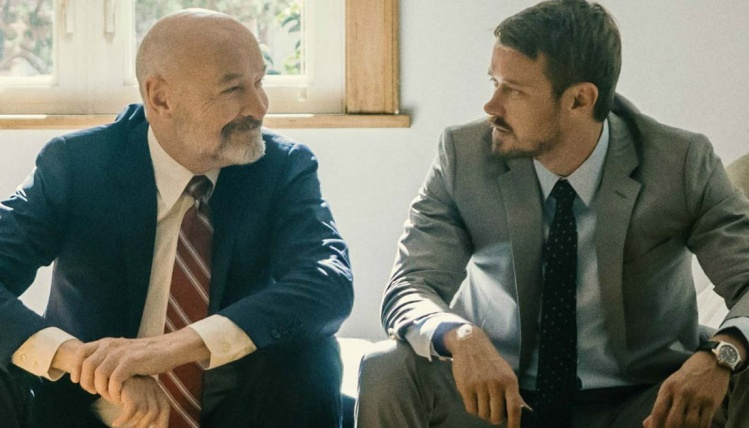 Terry O'Quinn (left) and Michael Dorman in the Amazon series 'Patriot' / Amazon