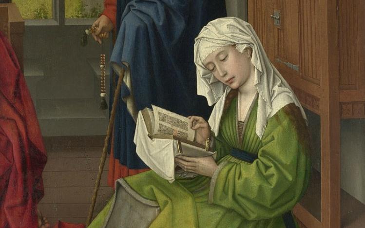 Rogier van der Weyden, The Magdalen Reading