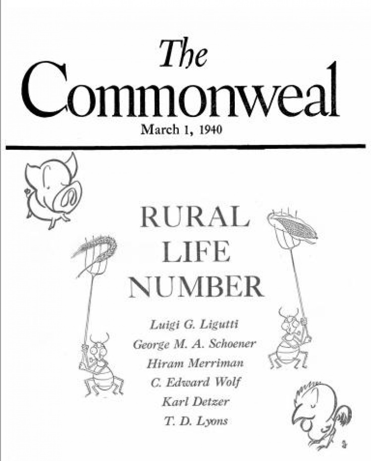 The Popes And Agriculture Commonweal Magazine