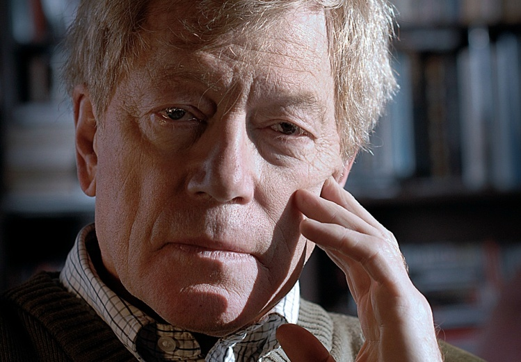 Roger Scruton, photograph by Pete Helme