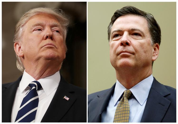 Donald Trump & James Comey / CNS photo