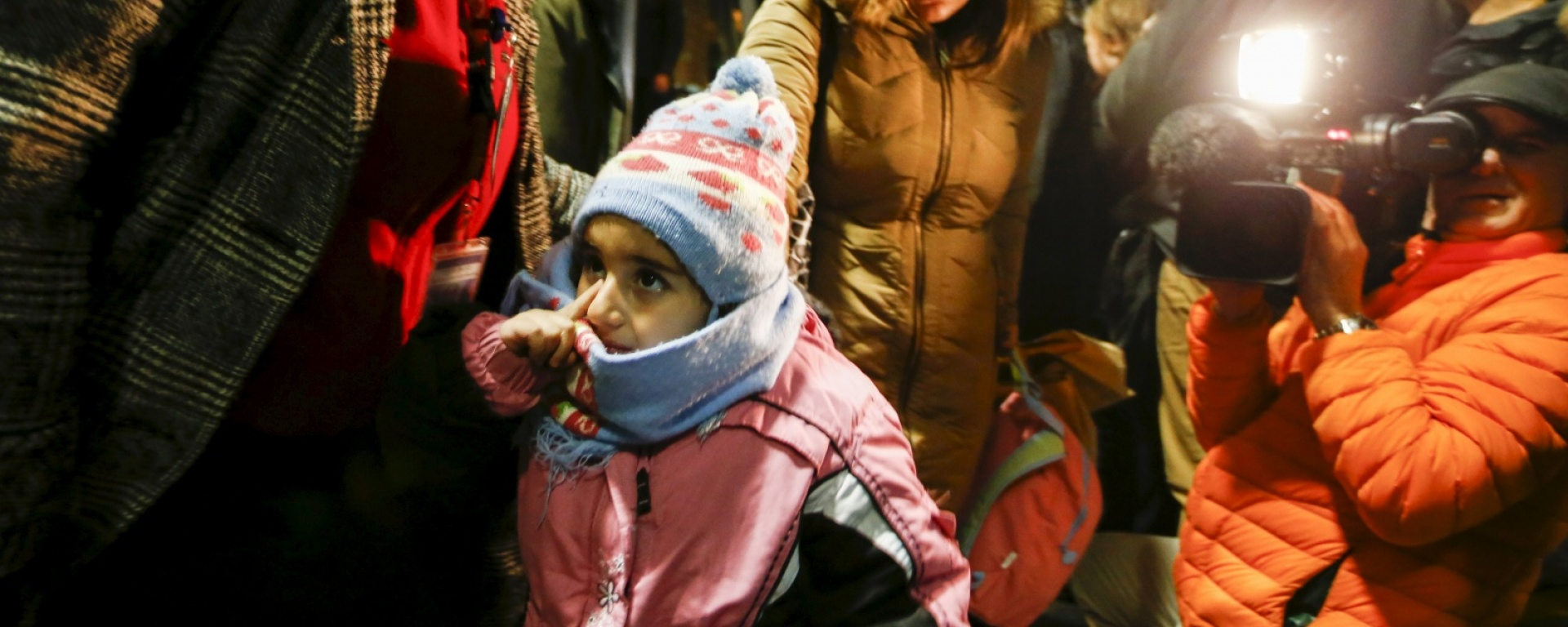 Syrian refugees arriving in Ontario / CNS photo