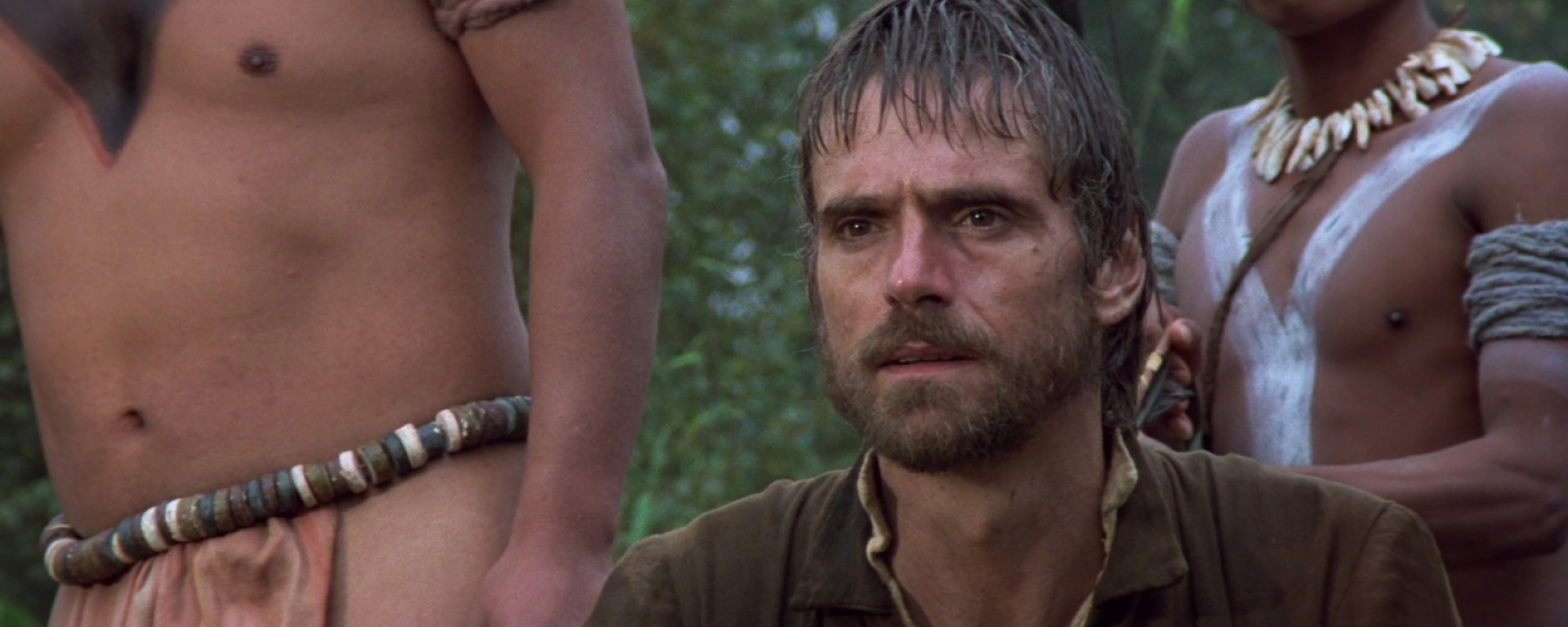 Jeremy Irons in 1986's 'The Mission' / Warner Bros.