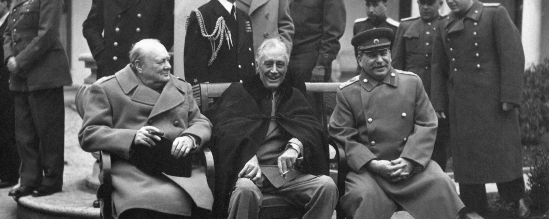 The victors at Yalta