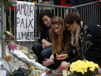 Outside Paris's Bataclan music hall, following the November 2015 terror attack / CNS photo