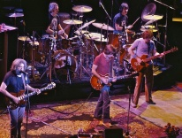 The Grateful Dead in 1980 / Chris Stone - Wikimedia