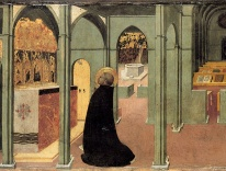 Saint Thomas Aquinas in Prayer, by Sassetta / Alamy