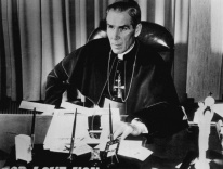 Bishop Fulton J. Sheen, 1956 / Wikimedia