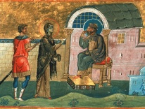 Publia (Poplia) the Confessor and Deaconess of Antioch / Menologion of Basil II