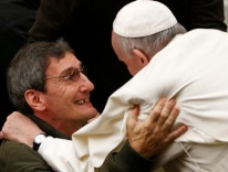 Pope Francis during his general audience in Paul VI hall at the Vatican Dec. 14 / CNS photo