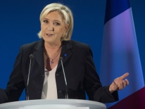 Marine Le Pen in April / CNS