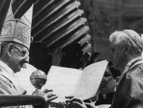 Paul VI and Joseph Ratzinger / Wikimedia
