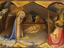 The Nativity - Lorenzo Monaco  / The Metropolitan Museum of Art & Wikimedia