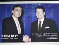 Donald Trump & Ronald Reagan, 1982