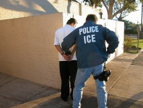An ICE arrest