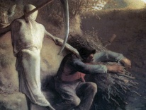 """Death and the Woodcutter,"" Jean-François Millet"