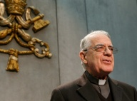 Jesuit Father Federico Lombardi, papal spokesman and retired Director General of Vatican Radio