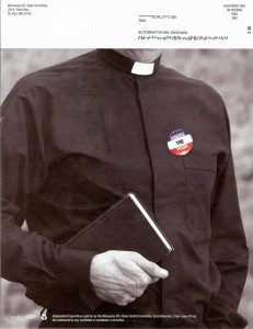 DFL anti-Catholic Postcard