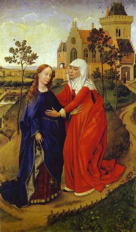 visitation weyden 15th c.