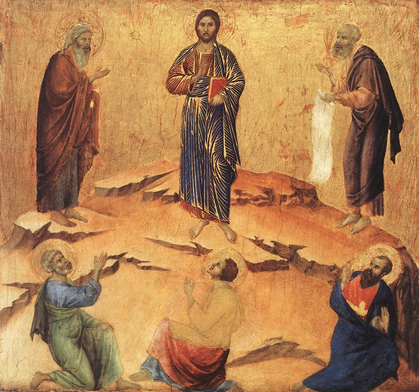 Duccio Transfiguration